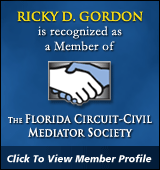 Member of The Florida Circuit-Civil Mediatior Society